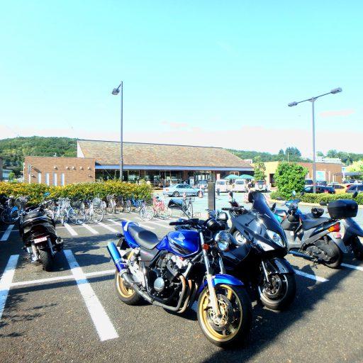 ラストツーリングスポット『道の駅八王子滝山』! まだできたばかりみたいです。