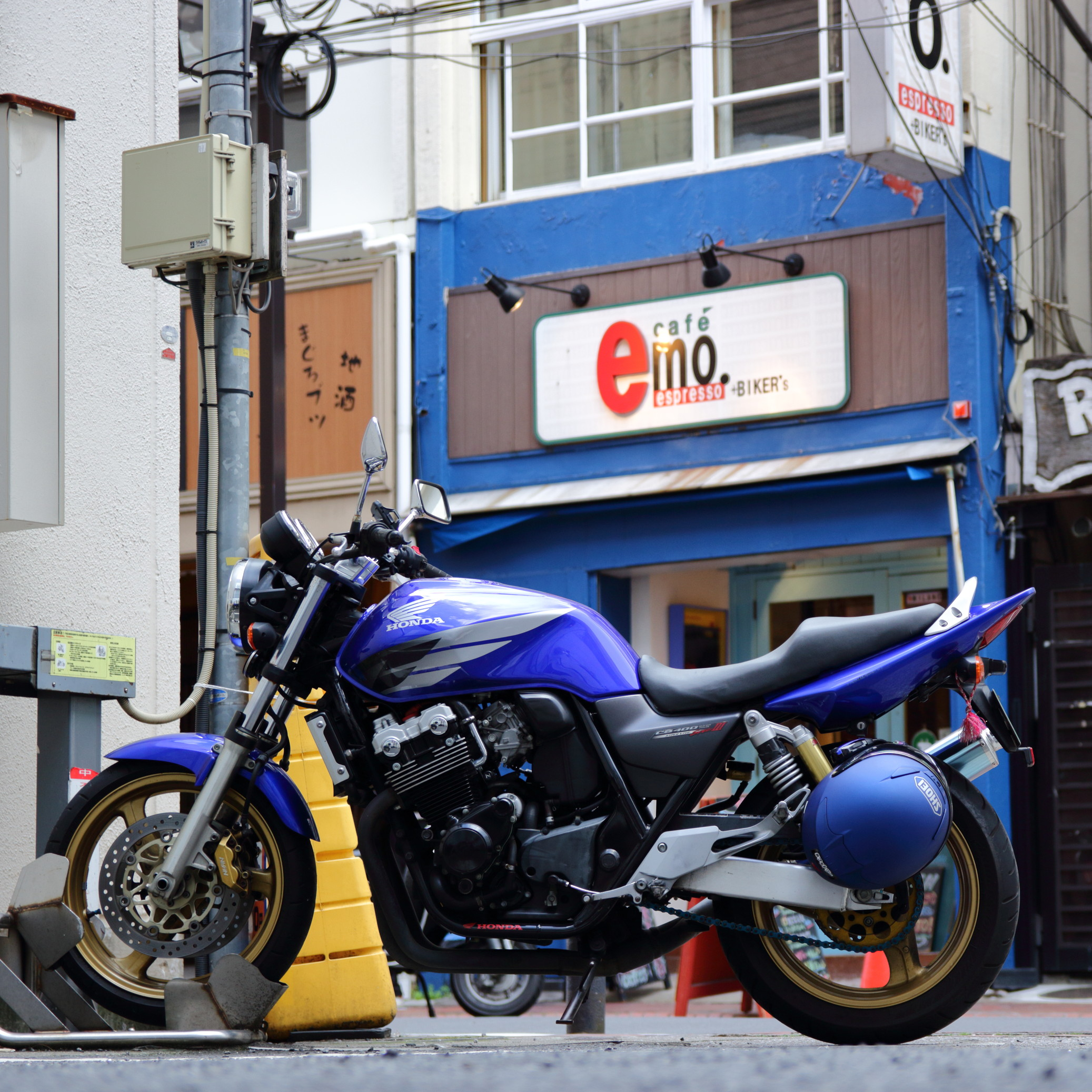 おすすめツーリングスポット#01 横浜カフェ+BIKER's「emo(エモ). エスプレッソ」